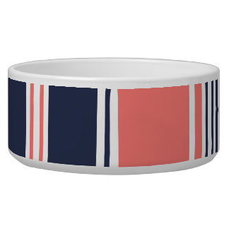 Pink and Blue Modern Stripes