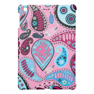 Pink and Blue Paisley Speck Case Cover For The iPad Mini
