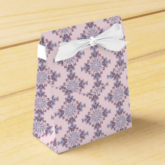 Pink and Blue Plus Sign and Diamond Kaleidoscope Favour Box
