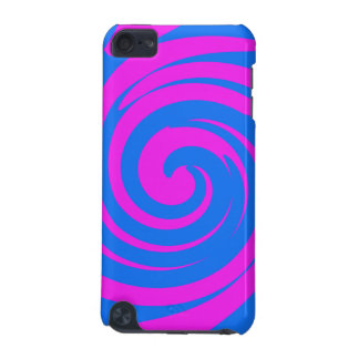 Pink and blue swirl iPod touch (5th generation) cover