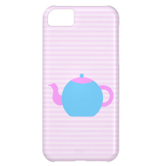 Pink and Blue Teapot Picture. iPhone 5C Cover
