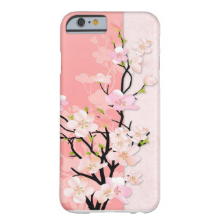 Pink and Coral Blossom Branch Barely There iPhone 6 Case