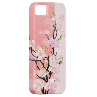 Pink and Coral Blossom Branch iPhone 5 Cover