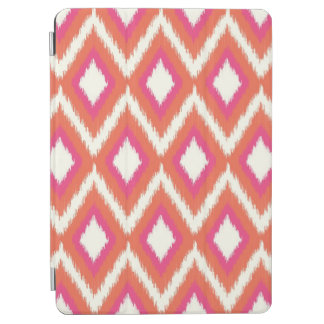 Pink and Coral Tribal Ikat Chevron iPad Air Cover