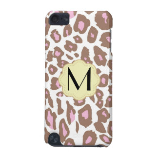 Pink and Cream Leopard Print iPod Touch (5th Generation) Case