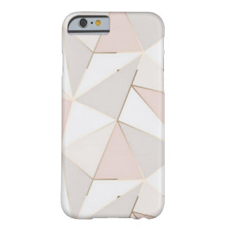 Pink and Gold Geometric iPhone 6/7/8 Case
