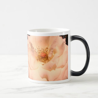 Pink And Gold Rose Magic Mug