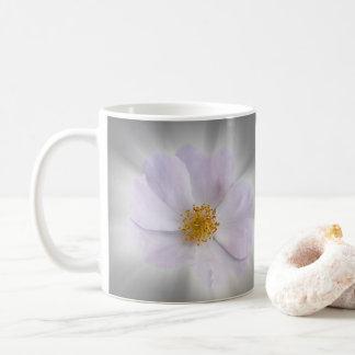 pink and gray coffee mug