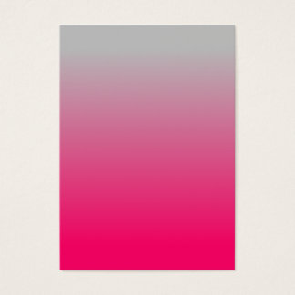 Pink and Gray Gradient Business Card