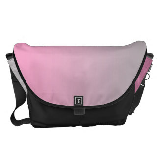 Pink And Gray Large Courier Bags