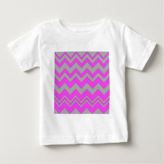 Pink and Gray ZigZag Chevron Tshirts