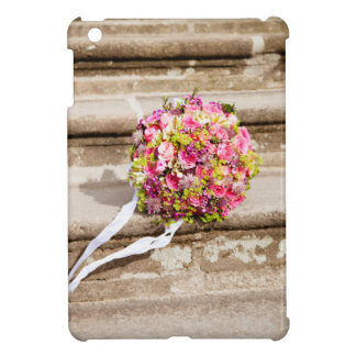 Pink and Green Floral Wedding Bouquet Case For The iPad Mini