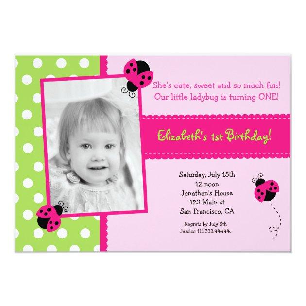 Lady Bug Invitations was adorable invitations design