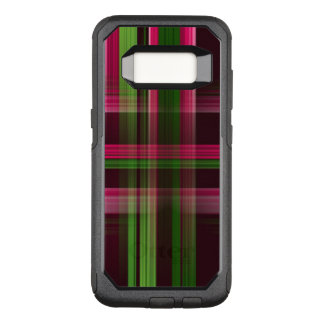 Pink and green plaid on Samsung s8 Otterbox case