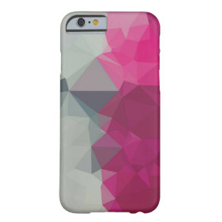 Pink and grey artistc crystal iphone case