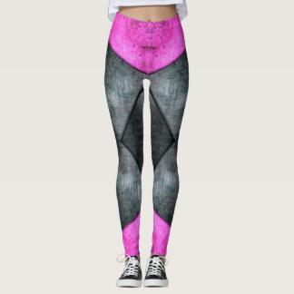 Pink and Grey Leggings