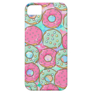 PINK AND MINT COOKIES DONUT SPRINKLE CRUSH BARELY THERE iPhone 5 CASE