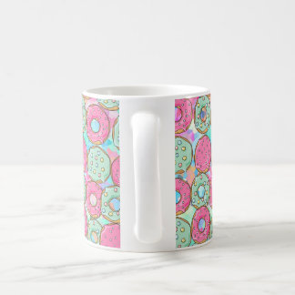 PINK AND MINT COOKIES DONUT SPRINKLE CRUSH COFFEE MUG