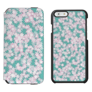 Pink and Mint Green Stars Incipio Watson™ iPhone 6 Wallet Case
