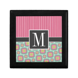 Pink and Mint Retro Gift Box