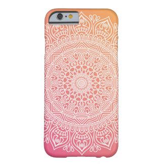 Pink and Orange Boho Chic iPhone 6 case