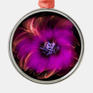 Pink and Orange Flower Ornament