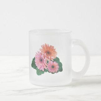 Pink and Orange Gerbera Daisies Mug