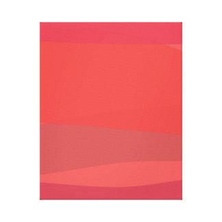 Pink and Orange Minimalism Gallery Wrap Canvas