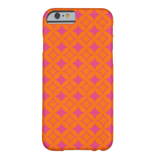 Pink and orange shippo barely there iPhone 6 case