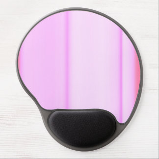 Pink and Pinker Stripe Design Gel Mouse Pad