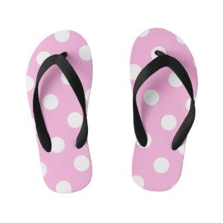Pink and Polka Dots Thongs