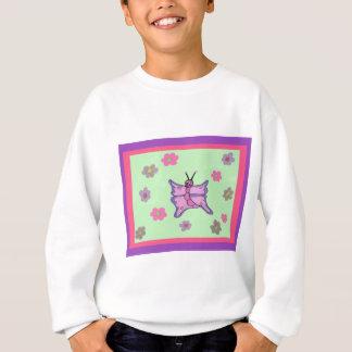 Pink and Purple Butterfly Sweatshirt