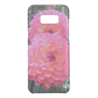 PINK AND PURPLE DAHLIA GALAXY CASE