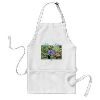 Pink and Purple flowers Aprons