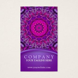 Pink and Purple Glowing mandala - purple design