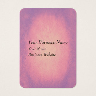 Pink and purple grunge texture business card