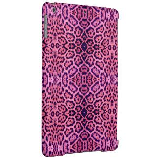 Pink and Purple Jaguar Fur iPad Air Cover