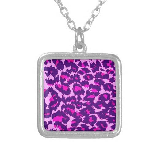 Pink and Purple Leopard Spots Jewelry