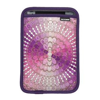 Pink and Purple Mandala Flower iPad Mini Sleeve