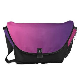 Pink And Purple Messenger Bag