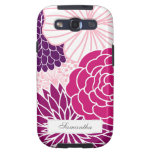 Pink and Purple Mod Floral