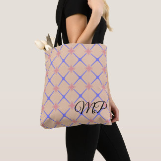 Pink and Purple Moroccan Pattern Tote Bag