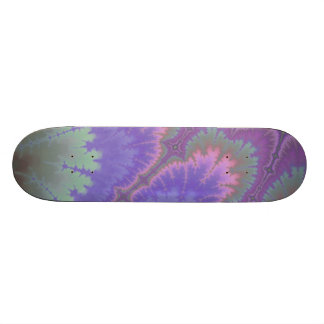 Pink And Purple Paisley 18.1 Cm Old School Skateboard Deck