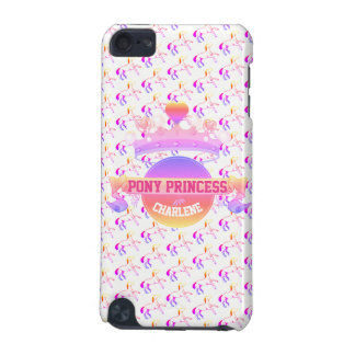 Pink and Purple Pony Princess iPod Touch 5G Case
