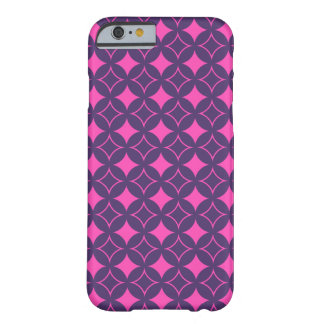 Pink and purple shippo barely there iPhone 6 case