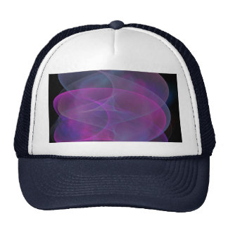 Pink And Purple Silky Wave Cap