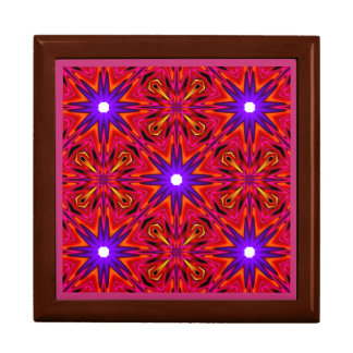 ~ Pink and Purple Stars Fractal ~ Gift Box