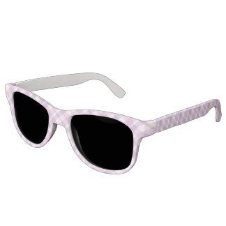 Pink and Purple Tartan Sunglasses