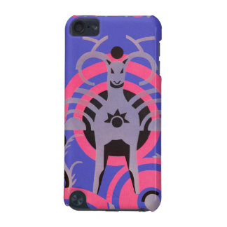 Pink and Purple Vintage Art Deco Animal iPod Touch 5G Case