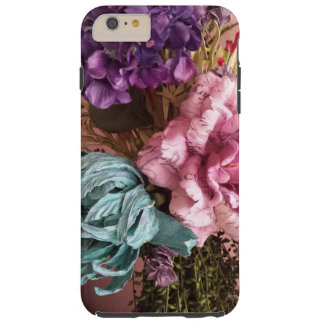 Pink and Purple Vintage Bouquet Tough iPhone 6 Plus Case